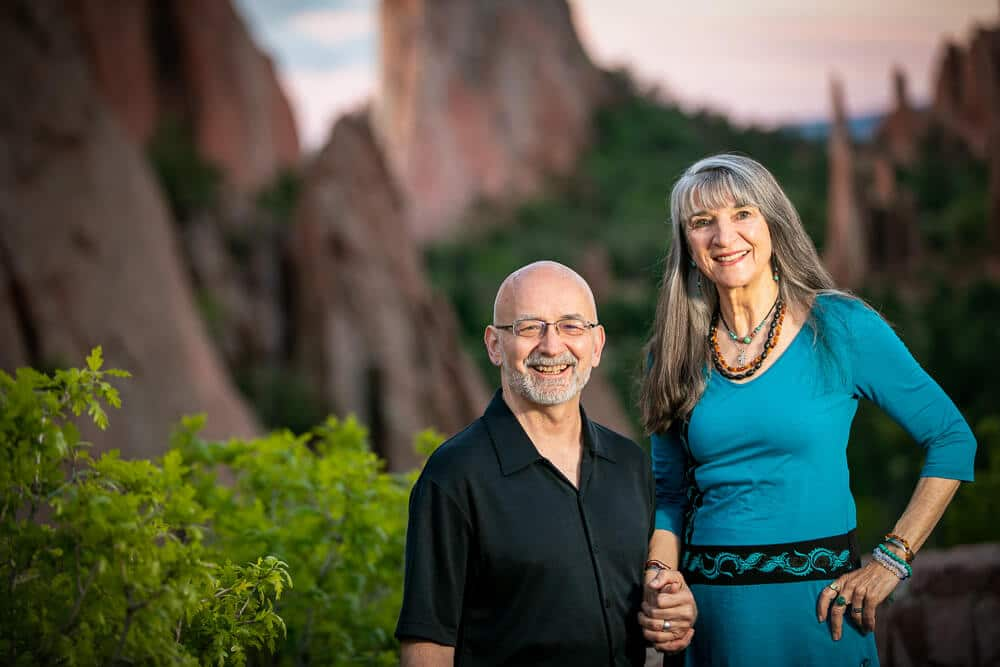 Dick and Avadhan Larson of Center for Well Being